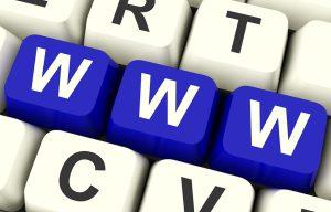 blue www keyboard