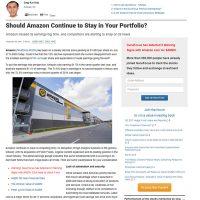 Guru Focus – Should Amazon Continue to Stay in Your Portfolio?