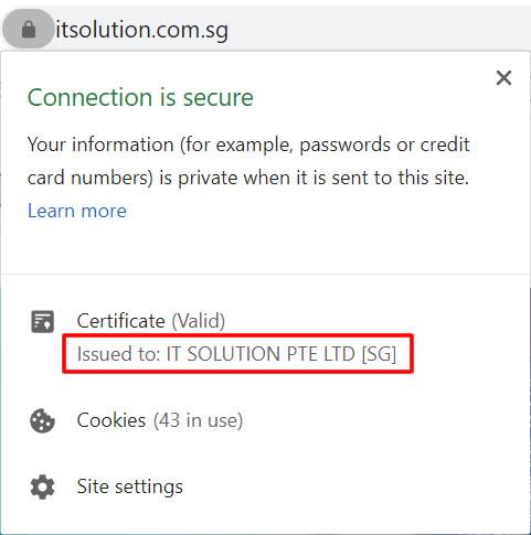 Organization Validation OV SSL Certificate